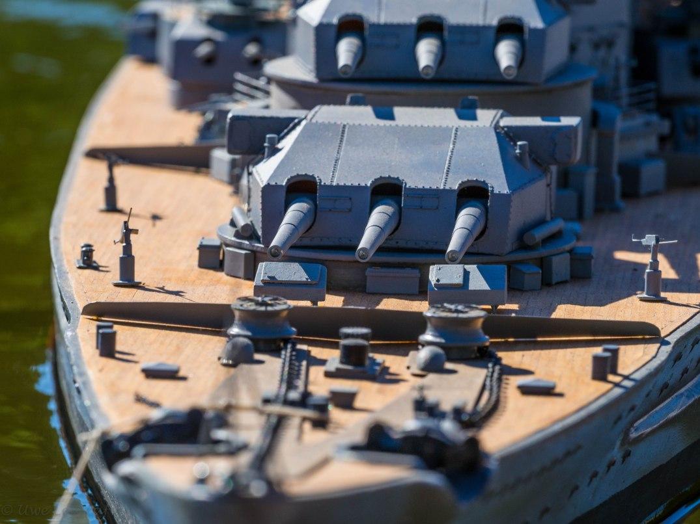 Modell Schlachtschiff Scharnhorst
